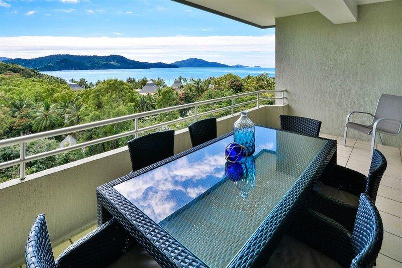 Balcony - Poinciana 206 - Hamilton Island - rentals