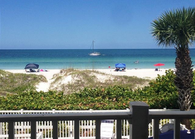 View From The Balcony - December is a perfect time for the beach lover in you at Island Sands 203! - Indian Rocks Beach - rentals