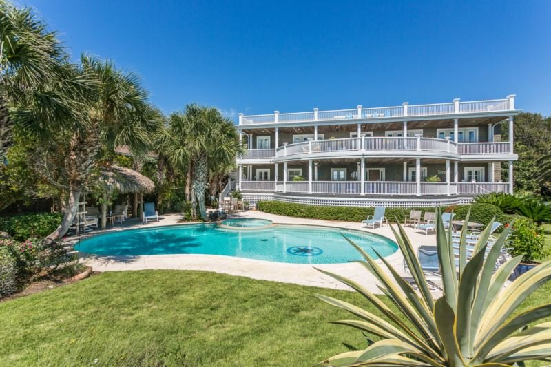 4201-10th- pool and house - 4201 10th Street - Saint Simons Island - rentals