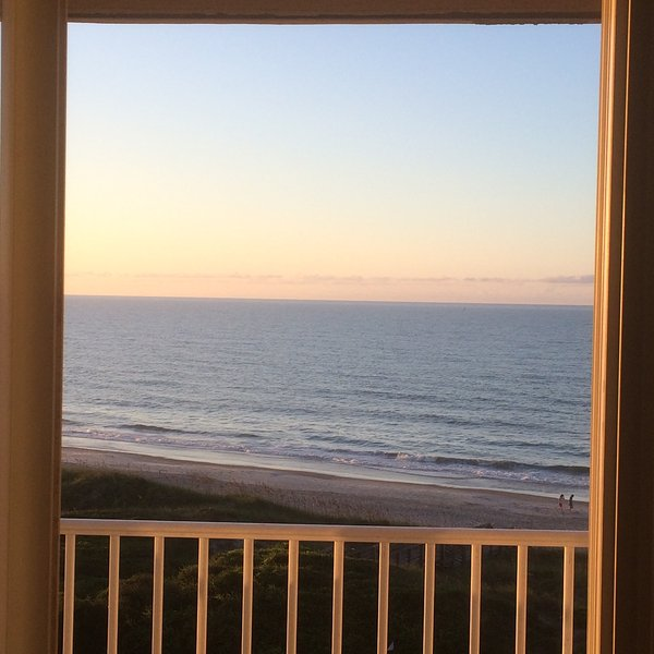 View from Living Room - St Regis Oceanfront Condo-Unit #3411 - North Topsail Beach - rentals