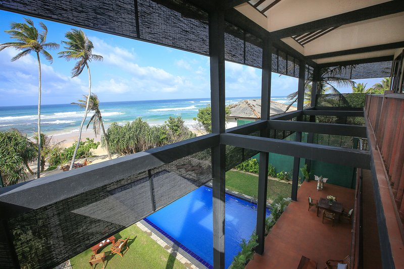 spectacular view of the ocean - 7/8 bedroom luxury beach villa, fully staffed including chefs and Exclusive - Koggala - rentals