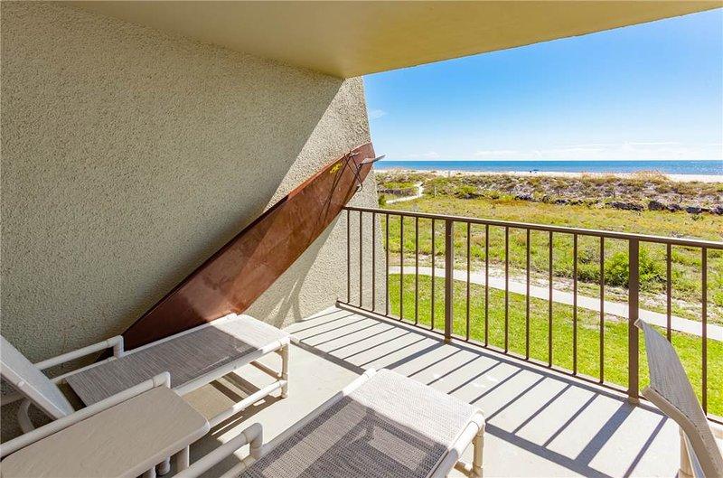 Island South 7, 2 Bedrooms, Ocean Front, Pool, WiFi, Sleeps 6 - Image 1 - Saint Augustine - rentals