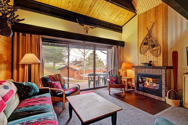 "SkyRun Property - ""Herbage Townhomes E1"" - Mountain living at its best! This feels just like a chalet. - Herbage Townhomes E1 - Steamboat Springs - rentals"