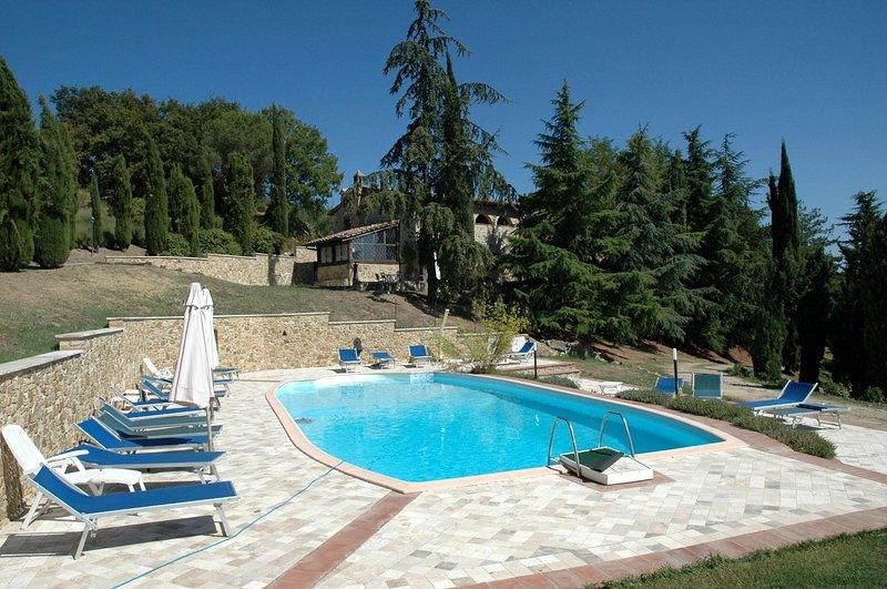 3 bedroom Apartment in San Gimignano, Tuscany, Italy : ref 1233002 - Image 1 - Ulignano - rentals