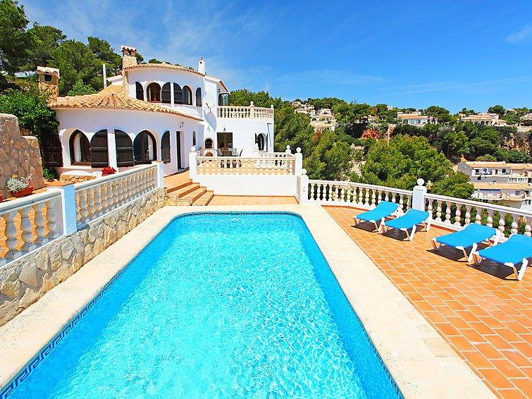 3 bedroom Villa in Javea, Costa Blanca, Spain : ref 2016119 - Image 1 - Javea - rentals