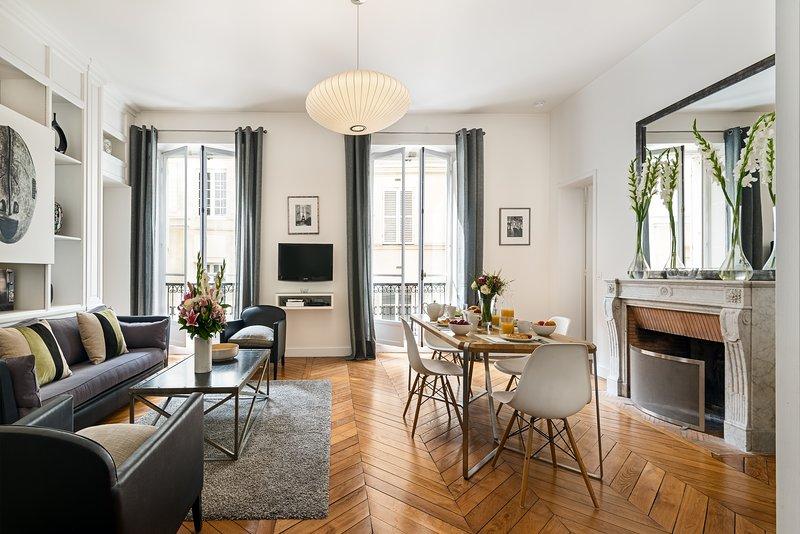 Saint Germain Chic Two Bedroom - Image 1 - Paris - rentals