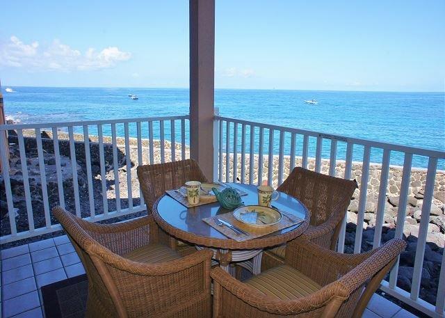 Ocean Front Lanai - Ocean Front Sea Village 4-106-SV4106 - Kailua-Kona - rentals