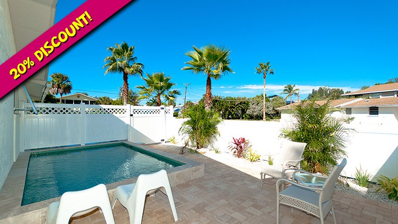 Ask About Our Discount! - Anna Cabana B: 1BR North End Pool Home - Anna Maria - rentals