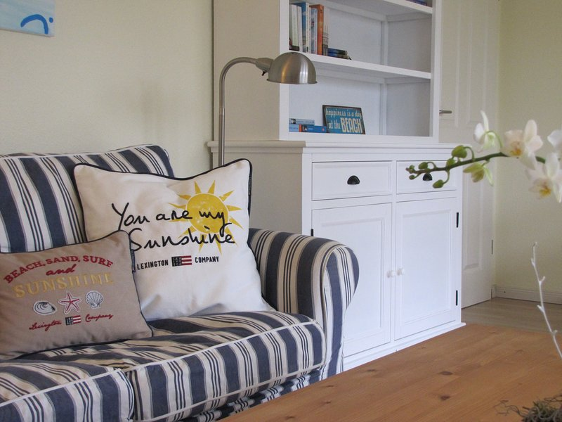 Hamptons styled living area - Haus am Brockeswald- Quiet, idyllic, cottage style - Cuxhaven - rentals