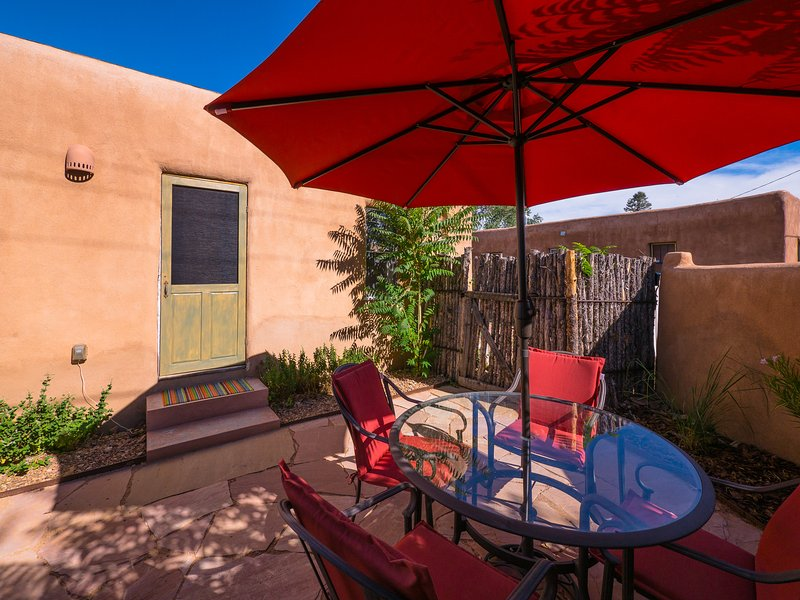 Another view of outdoor space - Two Casitas - Casa Corina - In the Heart of the Rail Yard - Santa Fe - rentals