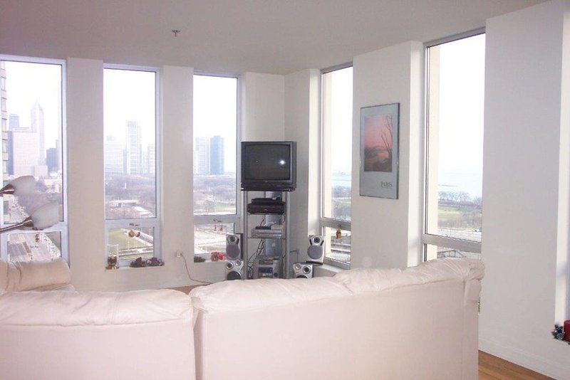 Furnished 1-Bedroom Condo at S Michigan Ave & E 13th St Chicago - Image 1 - Chicago - rentals