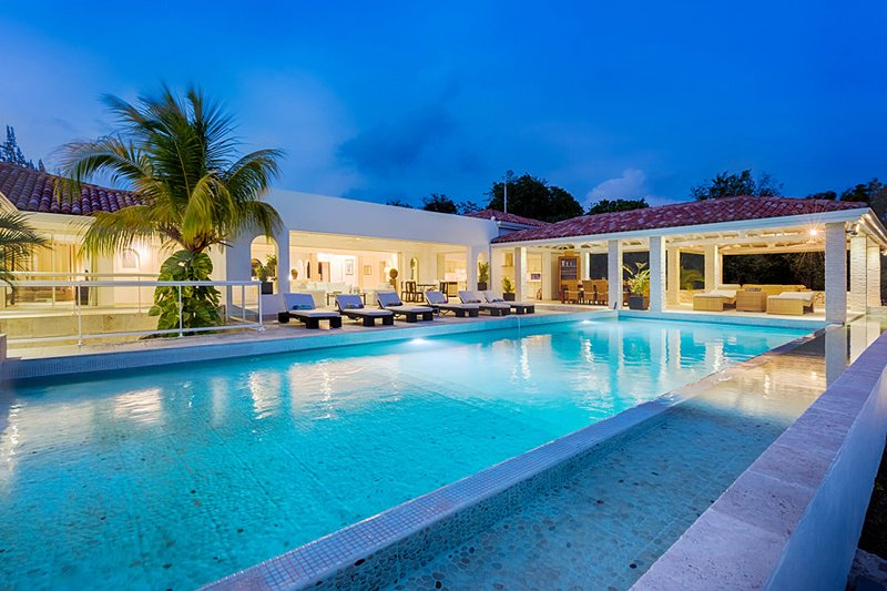 LA FAVORITA ... Absolutely Gorgeous Contemporary St Martin Rental Villa In The - Image 1 - Terres Basses - rentals