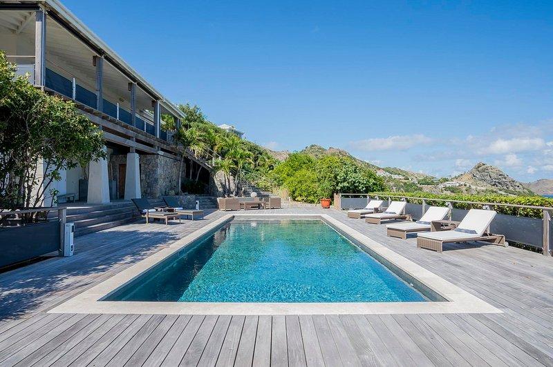 Photo 1 - Villa Claridge St Barts, Stunning Atlantic views, a truly palatial villa - Anse Des Cayes - rentals