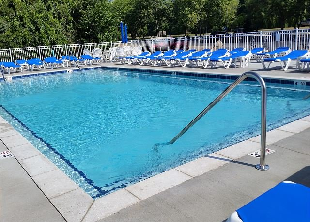 pool - Contemporary Pool View Condo w/ 2 BR & 2 BA next to Lakefront Development - Put in Bay - rentals