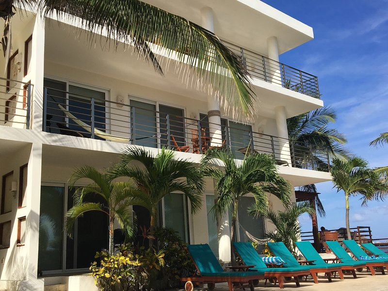 Second floor views from every room! - Luxurious Beachfront Condo on the Riviera Maya - Puerto Morelos - rentals