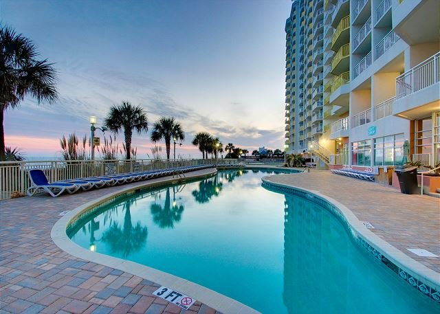 1 of Many Outdoor Pools - Beautiful 2bd/2ba Oceanfront Condo - North Myrtle Beach - rentals
