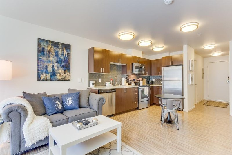 Modern, well-appointed condo near Lake Union & Space Needle - dogs OK! - Image 1 - Seattle - rentals