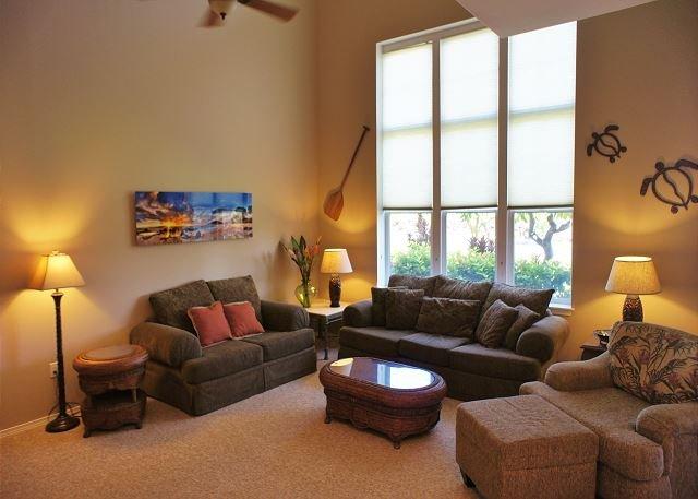 Living Area - Hawiian Retreat, Kohala Mountain Views, New Owner, Intro Rate - WCV2403 - Waikoloa - rentals