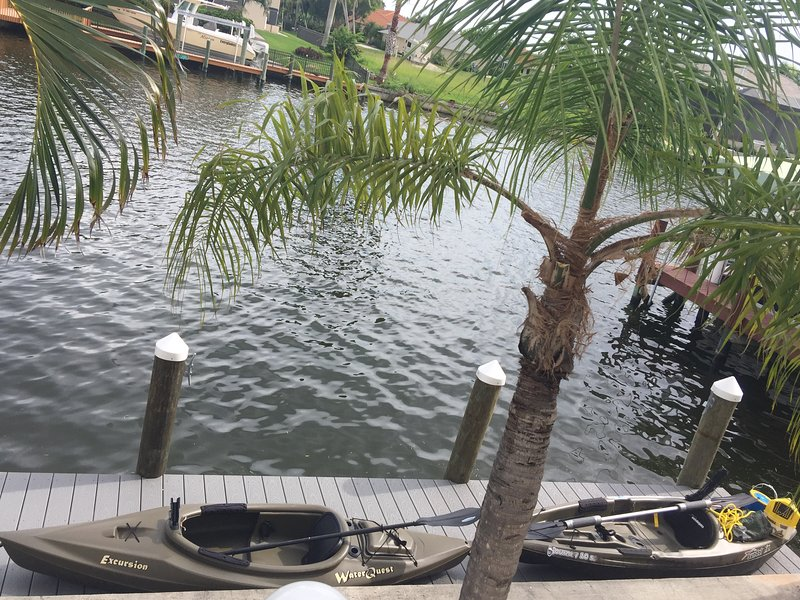 2 fishing kayaks that come with the property - May OPEN! Southern Exposure Pool in SW Cape Coral - Cape Coral - rentals