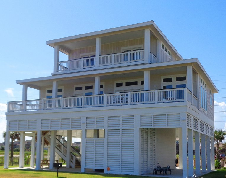 PELICAN PASS- BRAND NEW BEACH FRONT - Image 1 - Galveston - rentals