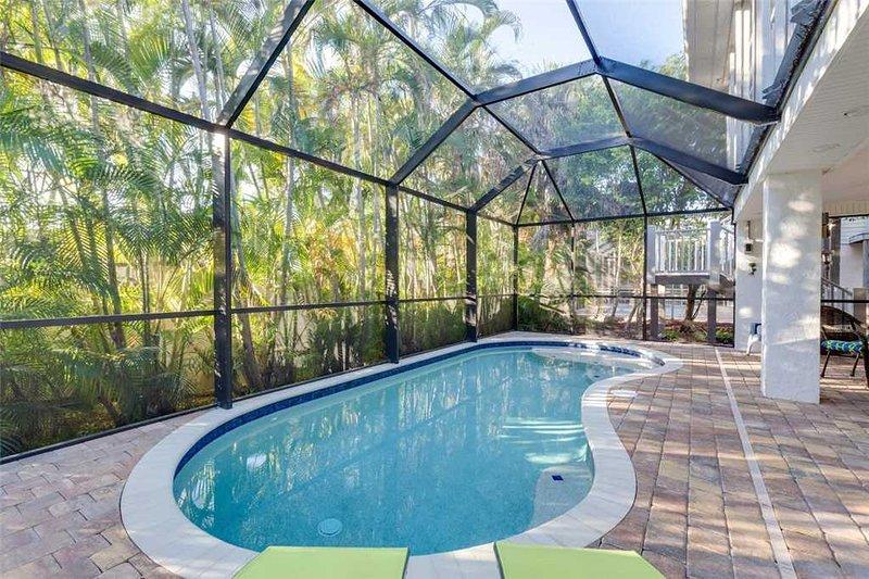 La Casa on Mango, 3 Bedrooms, New Heated Pool, Pet Friendly, WiFi, Sleeps 8 - Image 1 - Fort Myers Beach - rentals
