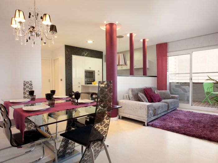 Luxury apartment in Barcelona with amazing views over Barcelona - Image 1 - Barcelona - rentals