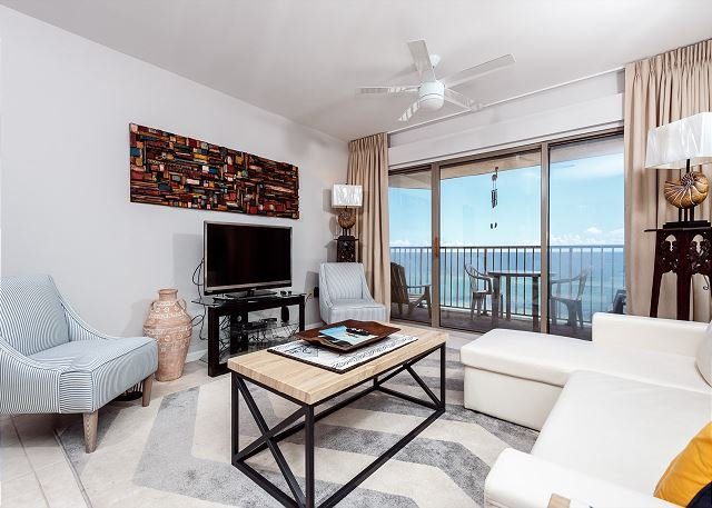 ETW5006:MUST SEE!!! Elegantly embellished 2BR BEACH FRONT condo. All NEW! - Image 1 - Fort Walton Beach - rentals