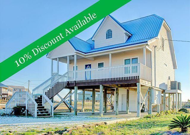 10% Discount Available! | Island Retreat | Awesome decks | Pet-Friendly! - Image 1 - Dauphin Island - rentals