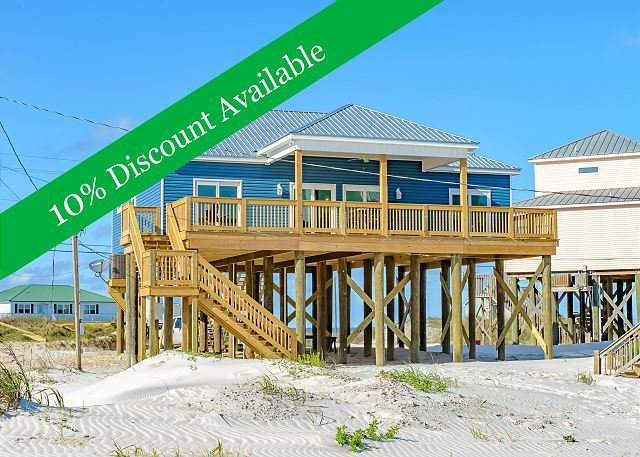 10% Discount Available!! | Gorgeous Kitchen | Fantastic Views! - Image 1 - Dauphin Island - rentals