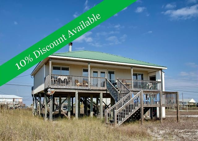 Just Chillin'   10% Discount Available   TVs in Every Room   Pet-Friendly! - Image 1 - Dauphin Island - rentals