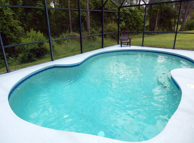 Relax by the pool - Tree Top Retreat - Davenport - rentals