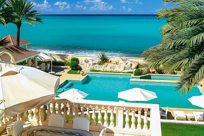 Luxury 9 bedroom St. Martin villa. Beachfront at Plum Bay Beach! - Image 1 - Plum Bay - rentals
