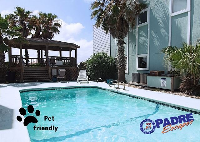 Complex pool for guest use - Recently Remodeled condo just Off the Beach! - Corpus Christi - rentals