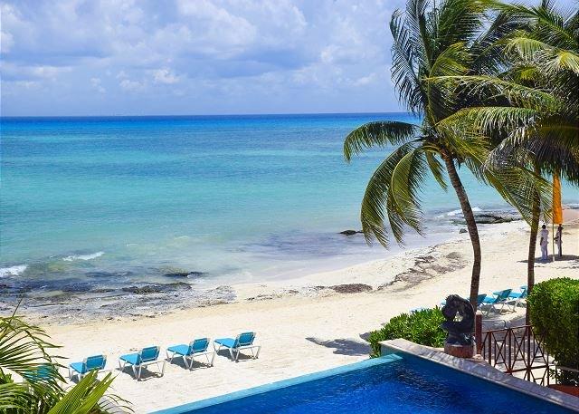 Oceanfront 3 Bdrm with pool!! Luna Encantada B2 - 35% off - Image 1 - Playa del Carmen - rentals