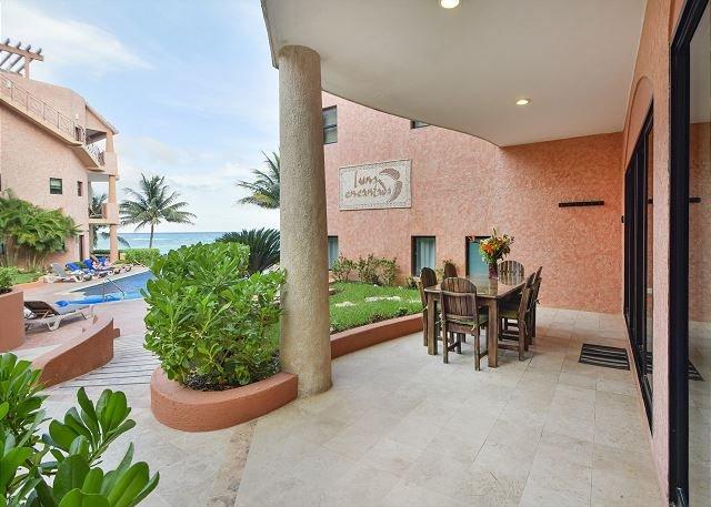 Oceanfront 3 bedroom (Best price)ground floor (LEF1) - Image 1 - Playa del Carmen - rentals