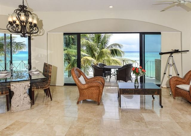 Oceanfront w/ pool 3 bedroom unobstructed views  LED2 35% off - Image 1 - Playa del Carmen - rentals
