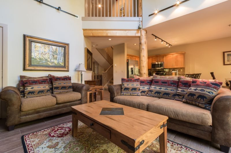 Starfire Townhome 1994 - Newly remodeled, beautiful home on shuttle route - Image 1 - Keystone - rentals