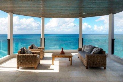 Stingray 4 Bedroom at Tamarind Hills, Antigua - Oceanfront, Pool - Image 1 - Bolans - rentals