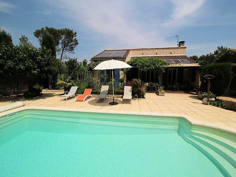 Orgon Bouches-du-Rhône, Villa 6p quiet area, private pool - Image 1 - Orgon - rentals