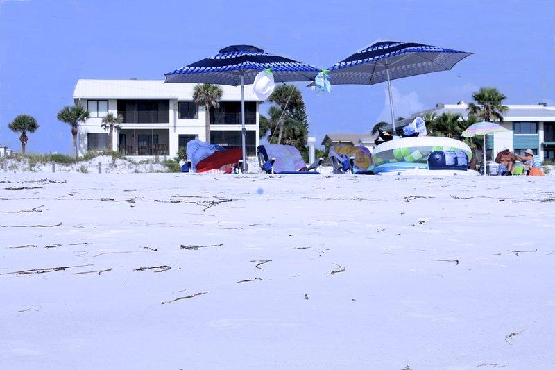 The Beach Sands is the bottom left condo - Anna Maria Island Beach Sands - Anna Maria Island - rentals