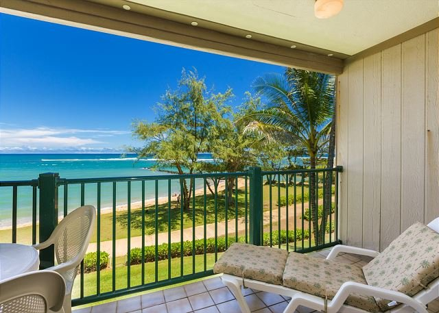 Pono Kai Resort A305, Oceanfront, Walk to Town, Steps to Sandy Beach - Image 1 - Kapaa - rentals