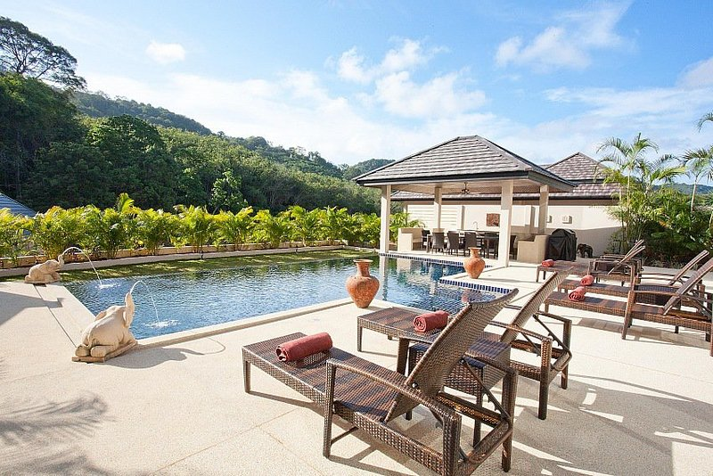 Opulent 6 bed villa with private pool - Image 1 - Kata - rentals
