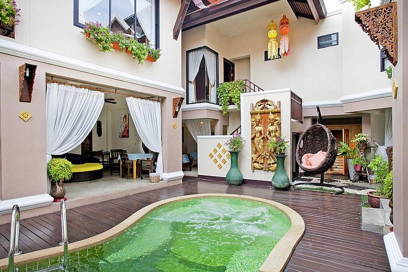 Luxury 8 bed pool villa with Jacuzzi - Image 1 - Jomtien Beach - rentals