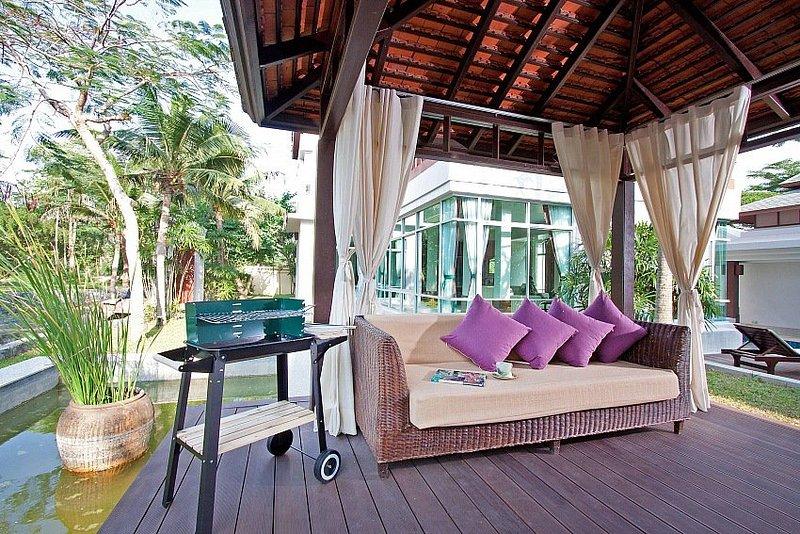 Modern Asian 5 bed villa with pool - Image 1 - Jomtien Beach - rentals