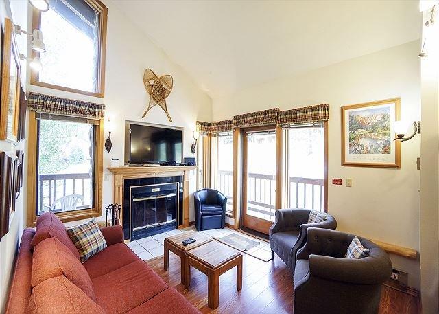 Tyra Aspen 9A Living Room - Tyra Aspen 9A Ski-in/Ski-out Condo Breckenridge Colorado - World - rentals