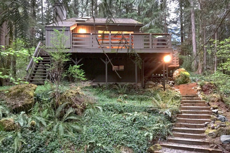 26SL - 26SL Woodsy Cabin near Mt. Baker with a  Hot Tub - Glacier - rentals