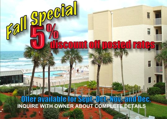 Fall Discount - Oceanview 1 Bedroom-GREAT RATES GREAT REVIEWS - New Smyrna Beach - rentals