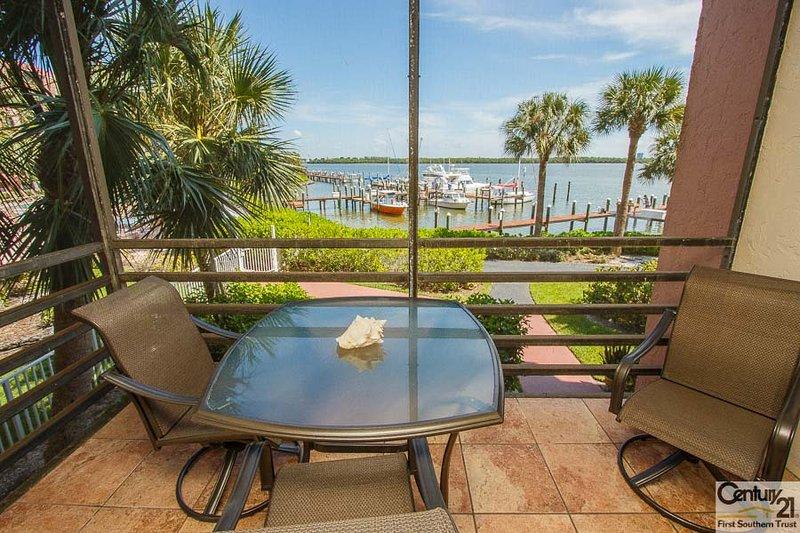 Screened Balcony - Riv B204 - Riverside Condominium - Marco Island - rentals