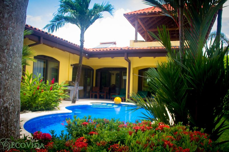 EcoVida Casa Famosa with Pool at Playa Bejuco - Image 1 - Playa Bejuco - rentals