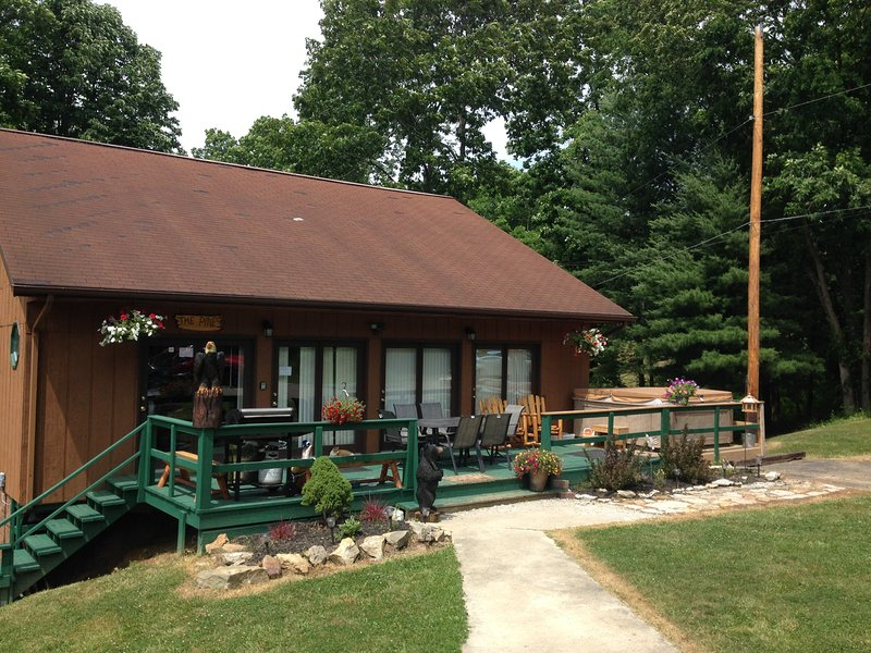 1st Choice Cabins - The Pines - Hocking Hills Ohio - Image 1 - Logan - rentals